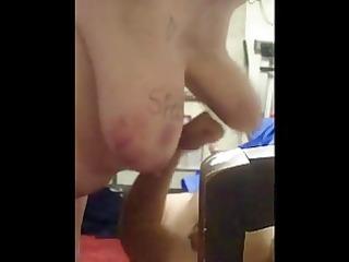 punching chubby foppy udders