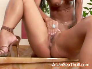 magnificent lesbo asian pair