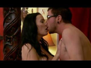 brunette hair mom acquires enticed by sons ally