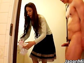 extremely lustful japanese milfs sucking part4