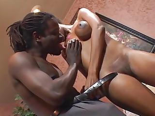 titty black gal receive fucked hard