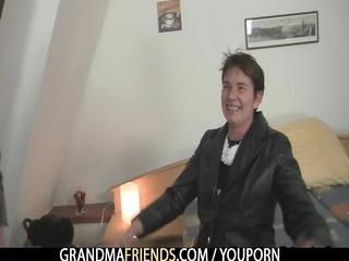 wicked granny acquires lured into threesome