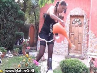 naughty mature housewife in darksome part0