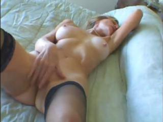 hot golden-haired granny t live without it is