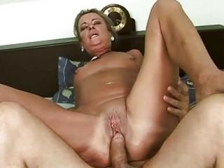 naughty granny gets her wazoo screwed