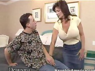 deauxma gets her wazoo drilled by a young guy