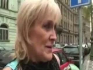 blond granny prostitute