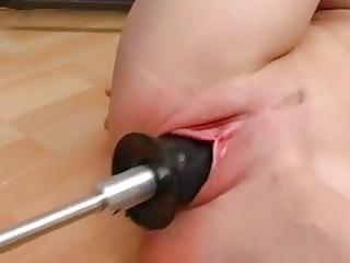 fist vibrator fuckmachine