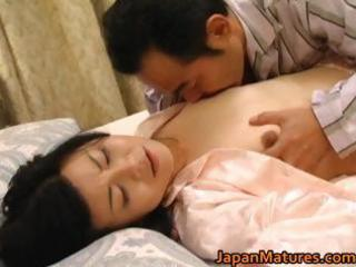 sexually excited japanese older honeys engulfing