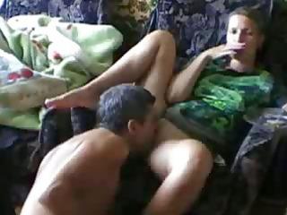 licking my girlfriend iris to an big o