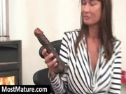 tattooed mama fucking marital-device