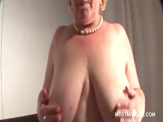 big beautiful woman mature blondie teased with a