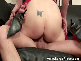 aged nylons sucking in advance of riding
