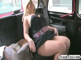 horny amateur milf creampie jizzed by the taxi