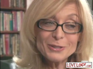 Older Women Younger Men Nina Hartley, Big Boobs