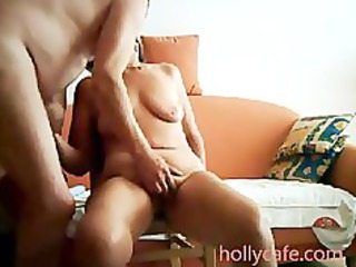 older wife is toyed by her hubby wife