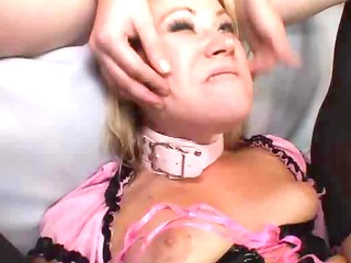sexy anal,latex and fishnet lesbian babes !