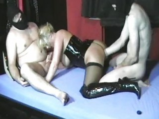 dilettante wife fisted by her hubby and his friend