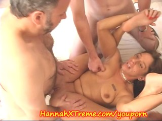 mother i and the cum swallowing gang team fuck