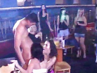 orgy party! mothers daughters engulfing jock