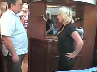 older british blond fucking om a boat