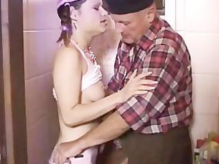 old guy bonks his own stepdaughter