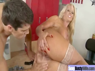 doxy horny mom with large juggs acquire hard