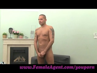 femaleagent. hot foot fetish casting