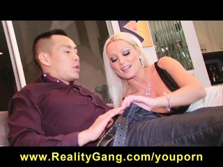 cheating big-tit blonde wife wench has love