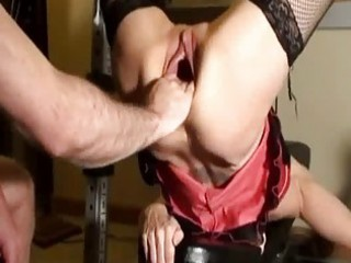 horny d like to fuck fist screwed in her gaping