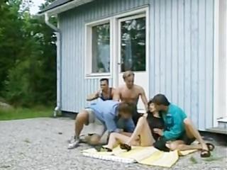 veronique lefay - trailer park mom gangbanged