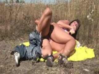 lustful milf receives drilled hard outdoor free