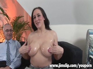 breasty british milf getting shagged