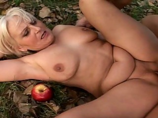 golden-haired granny fucked hardcore ou