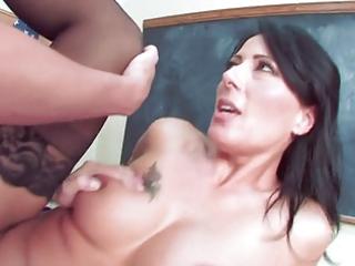 hawt aged teacher seduce her student