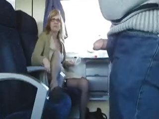 public sex in the teach with breasty milf