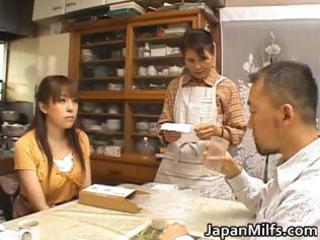 horny japanese milfs engulfing and fucking part4