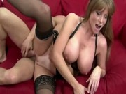busty milf gets a sexy fucking previous to oral