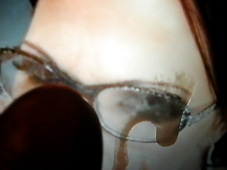 virtual bukkake tribute to older in glasses