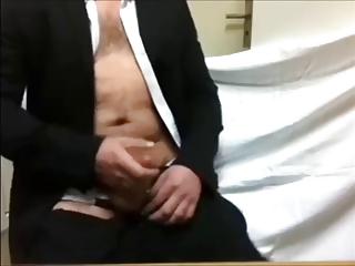 hot older man cum a load