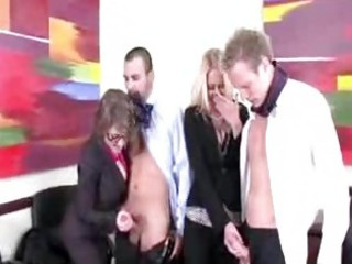 lascivious office milfs want to blow their co