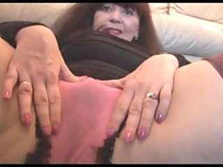 breasty older with curly love tunnel teases