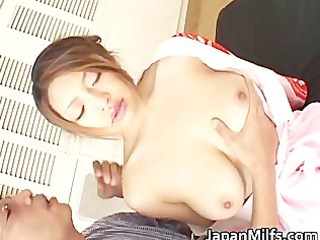 Alice Hoshi Asian babe gets facial part3
