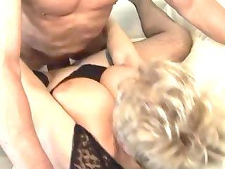 blond shorthair bbw-granny screwed