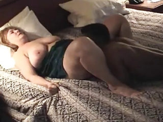 plumper aged housewife acquires drilled &;