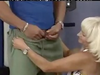 insane old mamma acquires fucked hard in her
