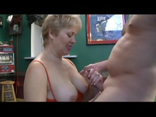 worthwhile mature doxy sucks off a dude