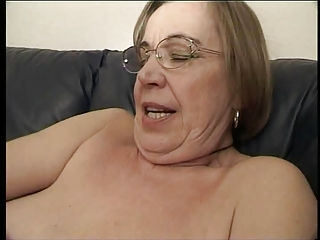 granny likes sex cream