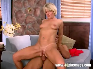 blonde granny doing anal sex