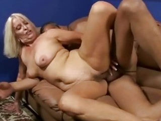 bigtits granny bent over and fucked doggystyle